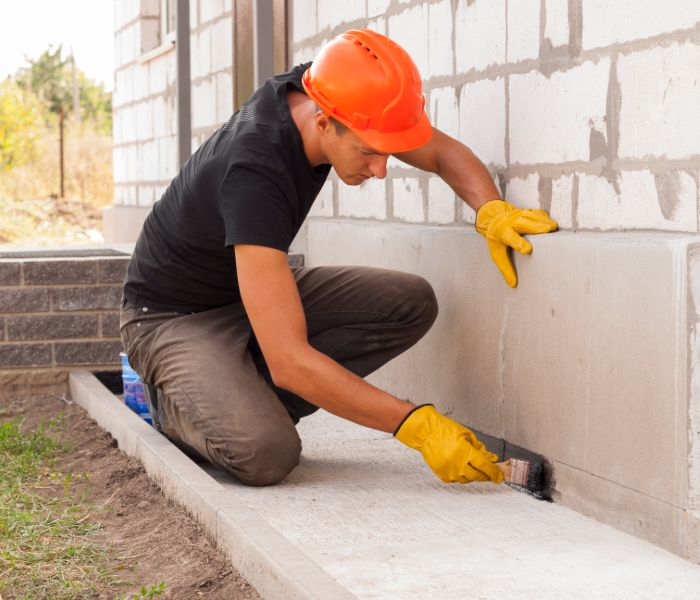 adding waterproofing to foundation repair in springfield